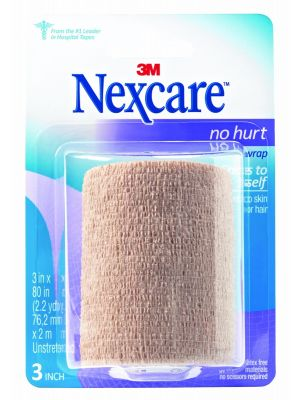 how to use nexcare athletic wrap